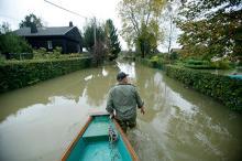Наводнение в Хорватии. Фото Reuters c сайта Лента Ру