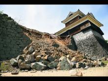 Разрушения в городе Кумамото, 14 апреля 2016 года. Masterpress/Getty Images
