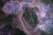 Пузыри в Большом Магеллановом облаке. Изображение: NASA