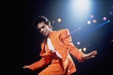 Принс. Концерт в августе 1986 года. Фото: Ross Marino / Sygma / Corbis / East News