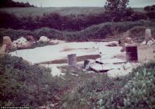 Пустырь, на котором был создан сад (1980 г.)