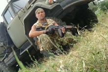Э. Савинов. Фото с ФБ-страницы группы Marines Ukraine.