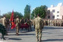 Прощание в Николаеве. Фото с ФБ-страницы С. Братчука.