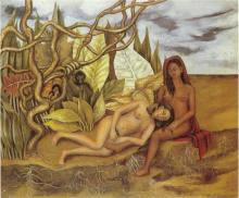 Two Nudes In The Forest (The Earth Itself). Изображение с wikiart.org