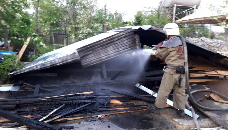 ВОдесской области был пожар на 2-х базах отдыха