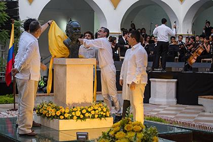 Часть праха Габриэля Гарсиа Маркеса захоронена вКолумбии