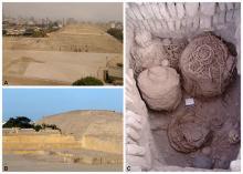 Артефакты культуры Уари. Фото: Huaca Pucllana research