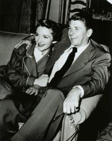 Рональд и Нэнси Рейган