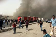 Место взрыва. Фото: Khalid Mohammed / AP