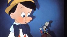 Кадр из мультфильма «Пиноккио» (1940 г.)
