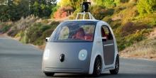 Google's driverless car. Фото с themideastbeast.com