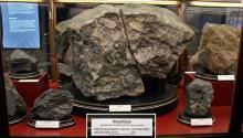 Фрагмент метеорита «Княгиня». Фото с guide.karpaty.ua