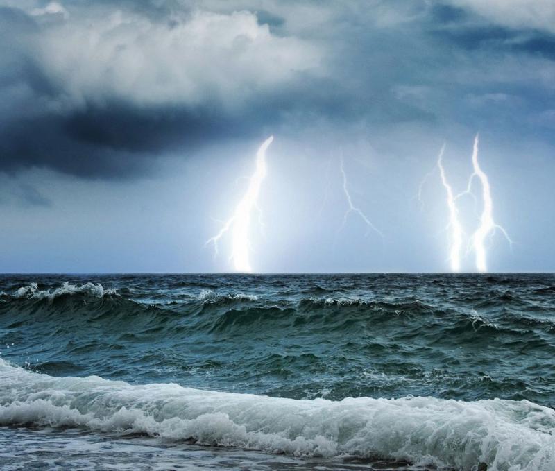 Назавтра вОдессе объявлено штормовое предупреждение