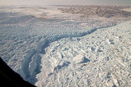 Подо льдами Гренландии найдена внушительная река— Ученые