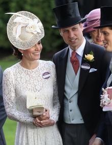 Герцог и герцогиня Кембриджские Уильям и Кейт