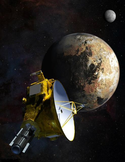 Астрономы: Под поверхностью Плутона может жить океан