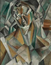 Пабло Пикассо. «Сидящая женщина»