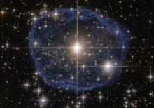Гигантский синий пузырь. Фото с сайта nasa.gov