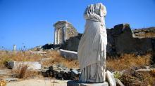 Остров Делос. Руины храма Исиды. Фото с сайта windmillstravel.com