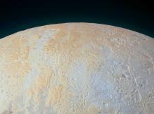 Северный полюс Плутона. Фото с сайта nasa.gov
