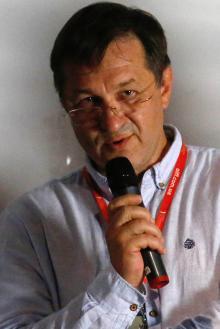Председатель правления Одесской киностудии Андрей Зверев