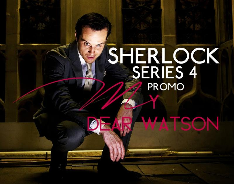 «Шерлок» 4 сезон трейлер: Бенедикт Камбербэтч иМартин Фриман снова вделе!