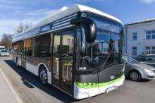 Электробус «Solaris Electric» на тестах в Риге. Фото с сайта cityriga.lv