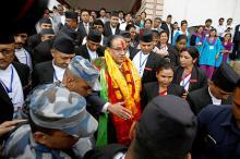 Пушпа Камал Дахал. Фото: Navesh Chitrakar / Reuters