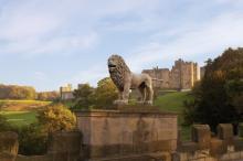 Замок Алник. Фото: Alnwick Castle