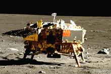 Спускаемый модуль миссии Change 3. Фото: CNSA / NASA