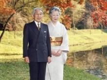 Император Японии Акихито с супругой Митико. Фото: 1tvnet.ru