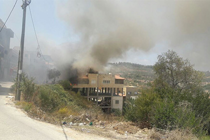 ВИзраиле беспилотник упал накрышу жилого дома