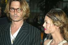 Джонни Депп и Ванесса Паради. Фото: Henry Mcgee / Globallookpress.com