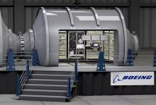 Прототип жилого модуля. Фото: Boeing