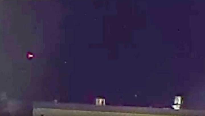 Граждане Сан-Диего увидели внебе огненные шарики