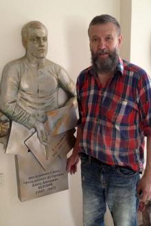 Скульптор Александр Токарев