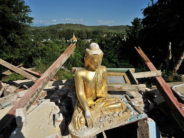 Мощное землетрясение вМьянме: погибли три человека