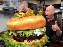 Абсолютно нелепый бургер