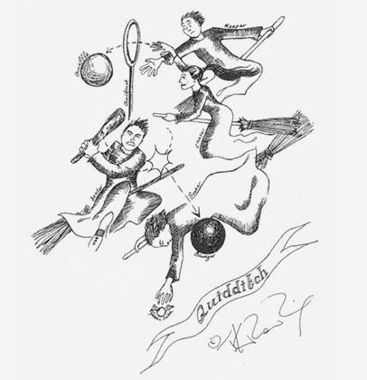 Джоан Роулинг обнародовала собственные иллюстрации к книжкам оГарри Поттере