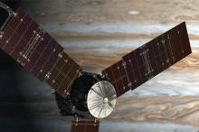 Станция Juno (в представлении художника). Изображение: NASA / JPL-Caltech