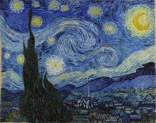 Винсент Ван Гог, «Звездная ночь»