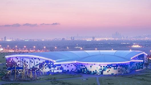 ВДубае начал работу наибольший вмире парк развлечений