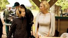 Надя Литц и Памела Андерсон на съемках фильма