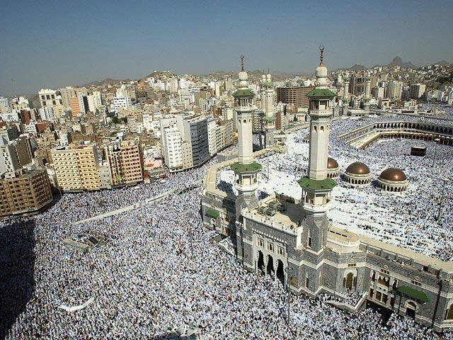 Нахадж вСаудовскую Аравию прибыло неменее млн. паломников