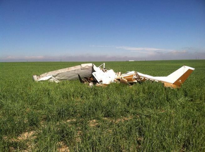 Внебе над США столкнулись два легких самолета