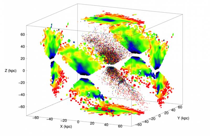Сверстники Млечного Пути: Всозвездии Стрельца найдены звезды