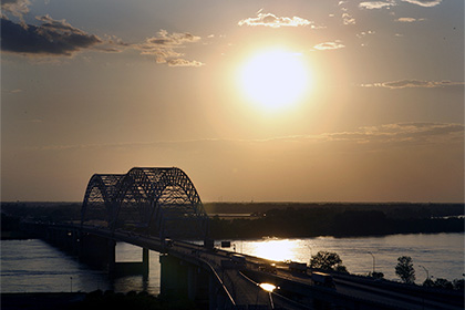 Ученые пояснили течение реки Миссисипи вспять