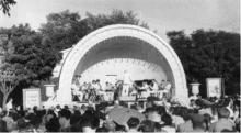 «Ракушка», 1950-е годы. Изображение с Официального сайта Одессы
