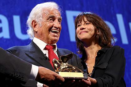 Бельмондо получил нафестивале вВенеции почетного «Золотого льва»