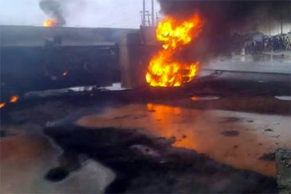 При взрыве насвалке вБенине погибли практически 100 человек